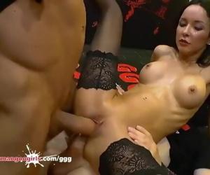 Francys Belle Anal Gangbang -..