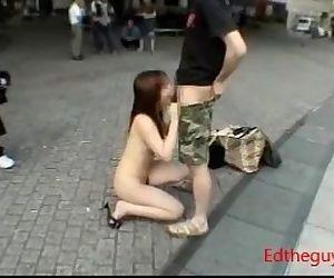 Japan Public Slut..