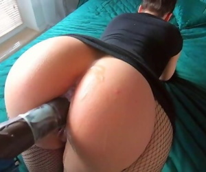 Amateur Chick Take a Big Cock To..