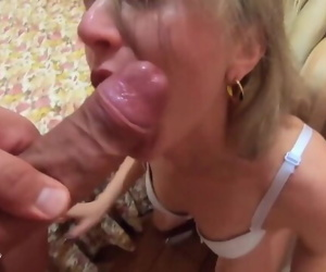Horny Maid Sloppy Blowjob and..