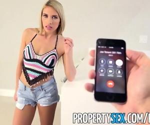 PropertySex - Hot Blonde Prefers..