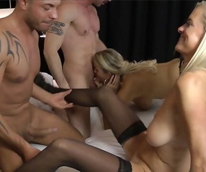 Kinky Swinger Party with two..