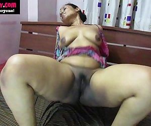 desi babe lily orgasm indian..