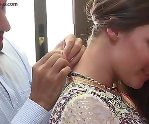 Cunning Indian Boss fucks Davids wife Nisha 40 sec HD