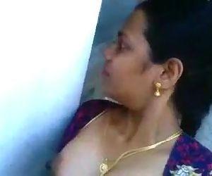 Desi aunty sucking and fucking neighbor boy