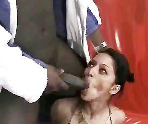 Exotic Paki Dancer seduced..