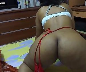 Indian crotchless panties