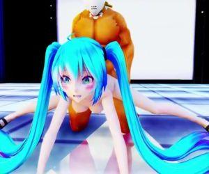 3D MMD Hatsune Miku Loves to Fuck..