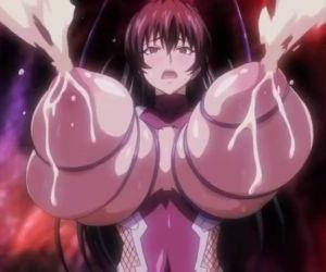 big tits anime..