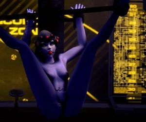 Overwatch Black Widow Sex Slave..