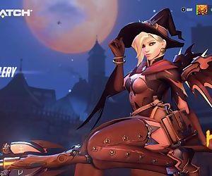 Overwatch Halloween 2017 - Mercy..