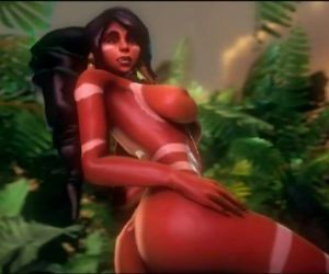 Nidalee 3D hentai game League of..
