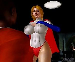 Power Girl Bust..
