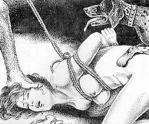 Slaves to rope..