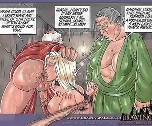 Brutal slave..
