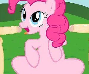 Pinkie Pie spreads..