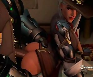 Ashe Gets Pounded..