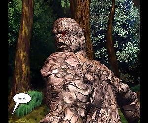 3D Comic: Ninja Scroll. Episodes 1-3