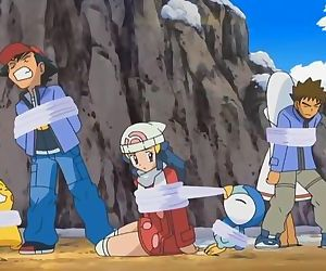 Dawn from pokemon has a so short dress but unfortunetely no upskirt to see