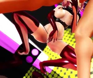 3D MMD Sammys Lusty Busty Mating Call