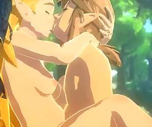 BOTW Zelda getting fucked by Bokoblins