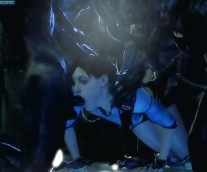 Jills Zombie Gangbang - Resident Evil
