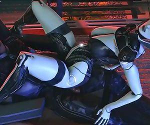 Mass Effect Edi rides good