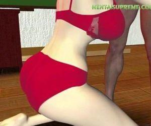 HentaiSupreme.COM - Insanely Sexy Horny Hentai Babe - 15 min