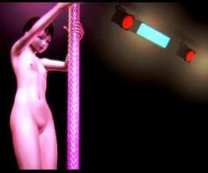 3D Hentai Lolita Nude Girl Novice Dance Satisfaction -FX - 6 min