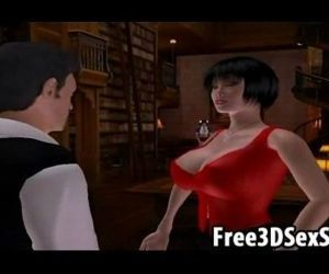 Two sexy 3D cartoon babes getting fucked hard - 22 min