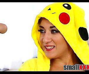 Dude Fucks A Tiny Teen Pokemon GirlsmallxxxHD.com 8 min HD