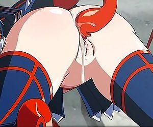 Kill la Kill Tentacles Hentai - 10 min