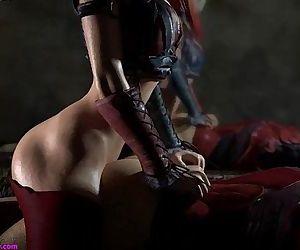 -Harley bangs Robin - 1 min 7 sec