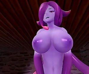 Monster Girl Island: Demon Slime Eris Gets Fucked 19 min HD