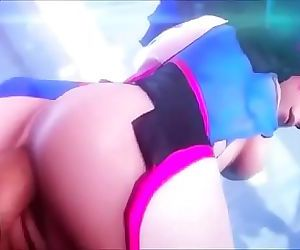 3D Big Ass OverWatch Sex Game 1 min 6 sec