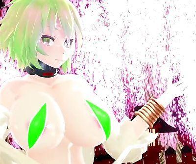 3D MMD Gumis Big Tittes Lots of Jiggle and Bounce -Gokuraku Jodo
