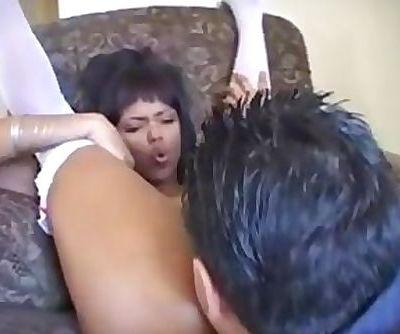 DAMN this black slut is good