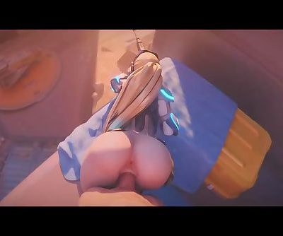 Overwatch Widowmaker gets fucked from behind