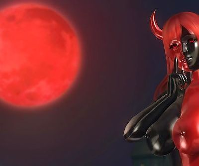 Dead or Alive 5 1.09 - Devil Honoka Victory Pose #1 Happy Halloween