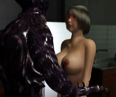 3d movie robot