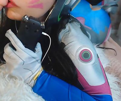 ASMR COSPLAY DVA OVERWATCH BLOWJOB SO HOT