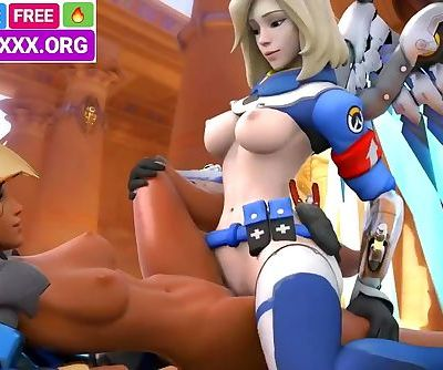 DARK AND WHITE LESBIANS HENTAI SFM IN REAL 3D PORN GAME