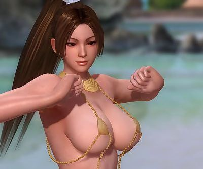 Dead or Alive 5 1.09BH - Mai Dance on the Beach w/ Sexy Outfits #1