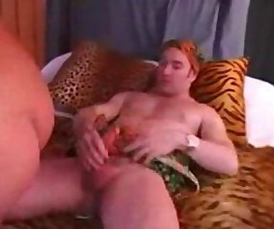 Big tit mommy takes many cocks