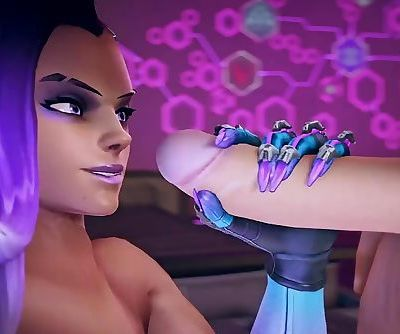 Hacked Love – Sombra and McCree Overwatch animated short