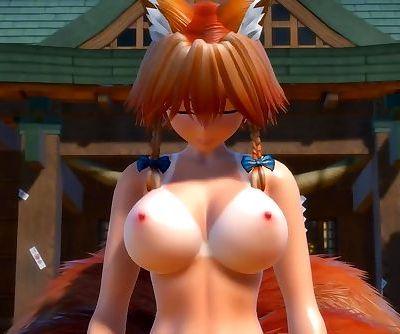 3D MMD Hi Fi Raver - Foxy Sakuya