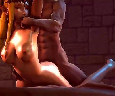 Zeldas 20th Birthday in the Dungeon by TheNightWanderer
