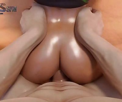 -Sombras Anal 21 sec HD