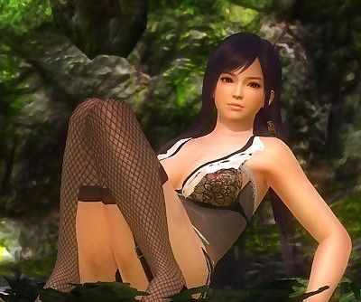 Dead or Alive 5 1.09 - Kasumi Primal Paradise w/ Sexy Outfits