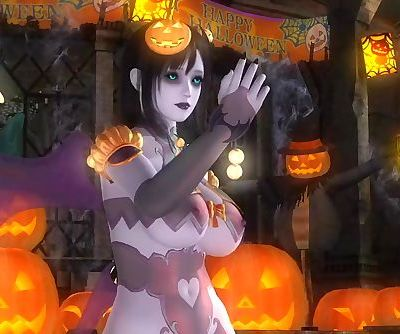 Dead or Alive 5 1.09BH - Succubus Honoka Victory Pose #2 Happy Halloween